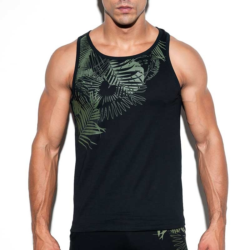 ES Collection TANK TOP TS212 mit Farbkontrast Druck