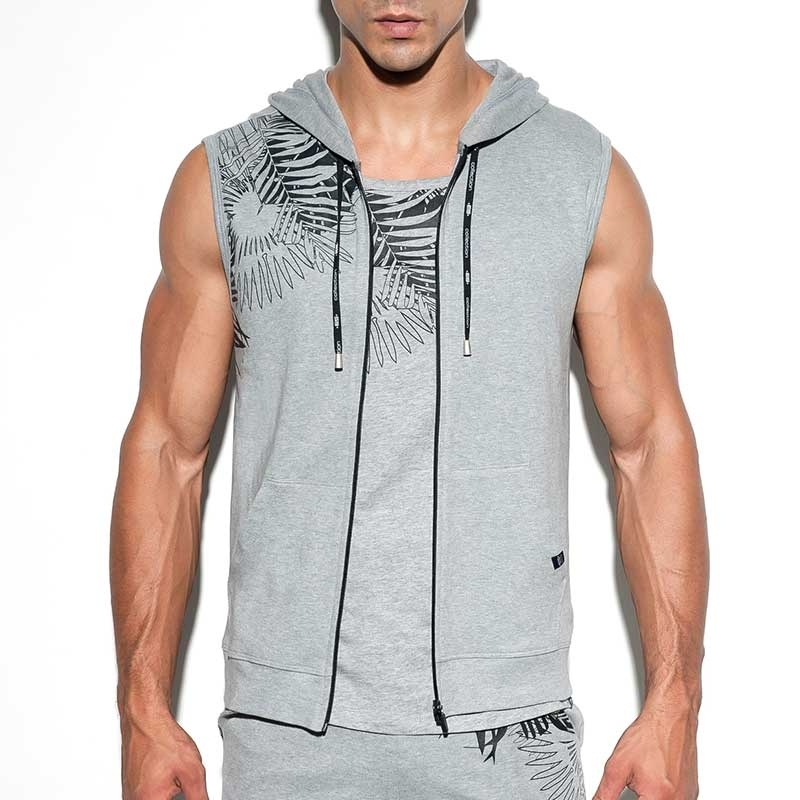 ES Collection HOODIE TANK SP164 Designer Jersey Stoff
