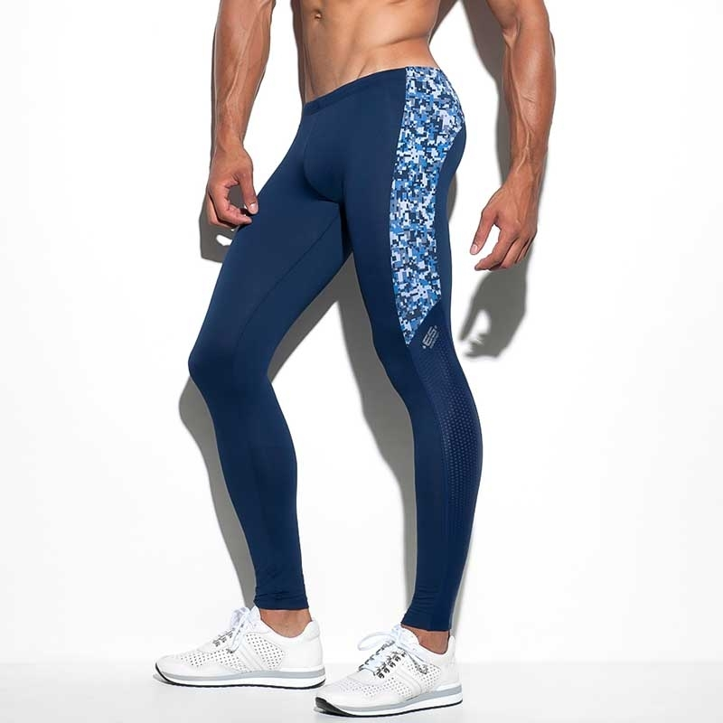ES Collection LEGGINGS SP156 mit Micro-Camouflage Muster