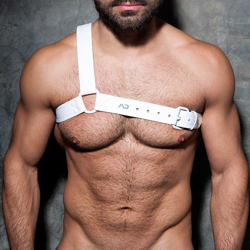 ADDICTED HARNESS ADF39 White Party Edition