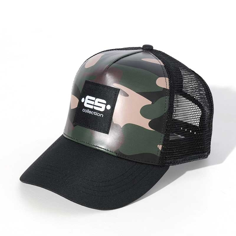 ES Collection CAP CAP004 with camouflage print