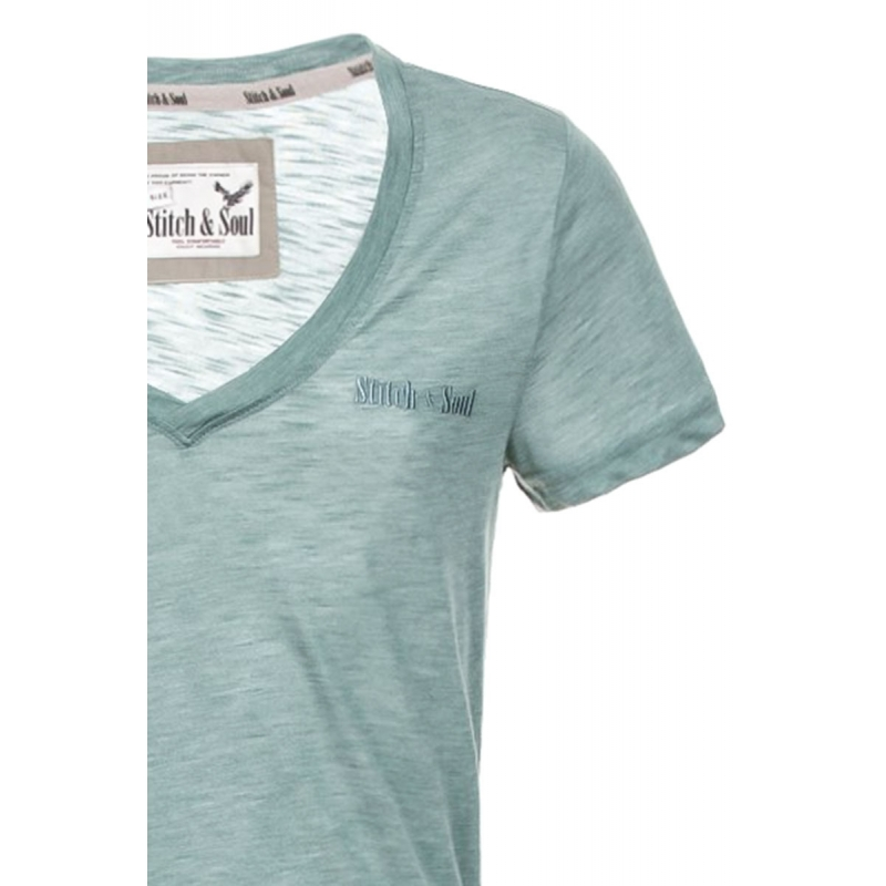 STITCH & SOUL T-Shirt  loungeclub mint