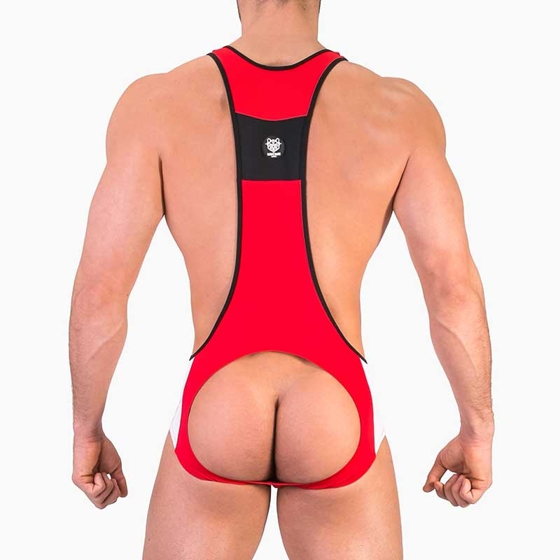 BARCODE Berlin Stringer BODY Feuer 91452 Ringer backless red