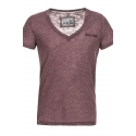 STITCH & SOUL T-Shirt  loungeclub bordeaux