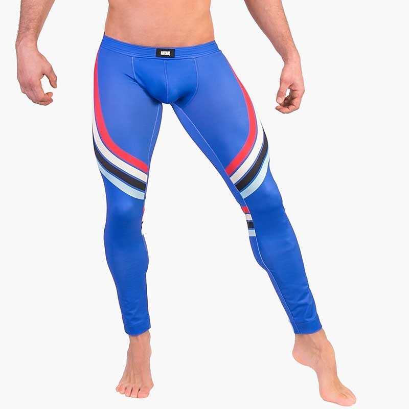 BARCODE Berlin LEGGINGS athletik 91481 training im blue Parkour
