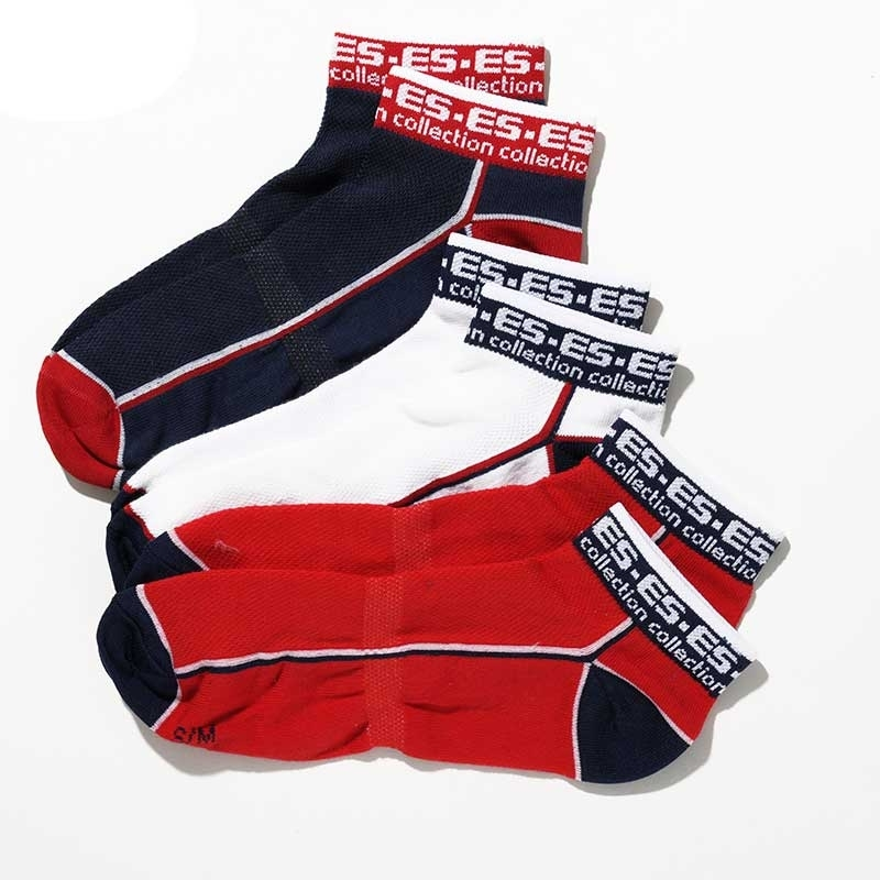ES Collection SOCKS SCK02P bonus 3er pack