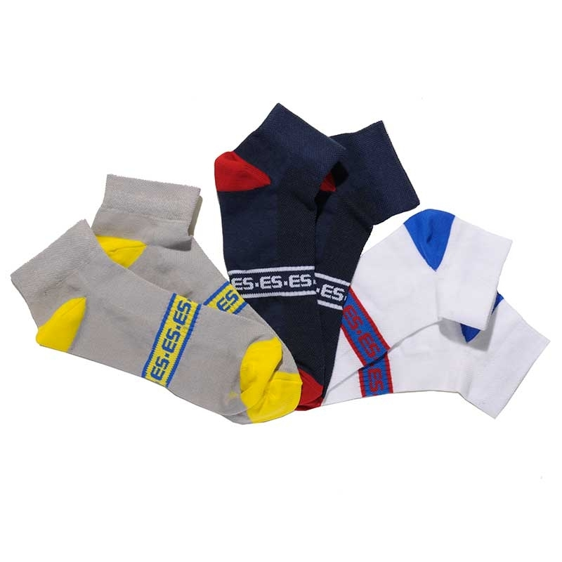 ES Collection SOCKS SCK04P with athletic comfort cut
