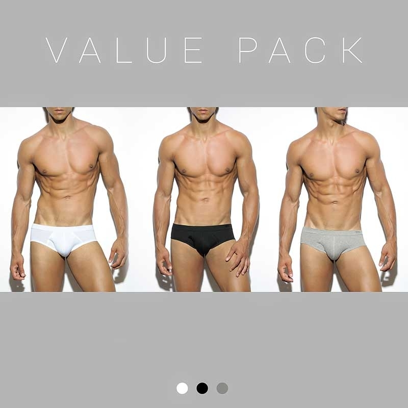 ES Collection BRIEF UN184P classic 3x pack