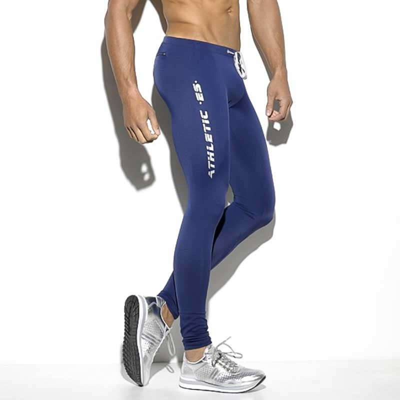 ES Collection LEGGINGS SP157 mit athletischem Streifen