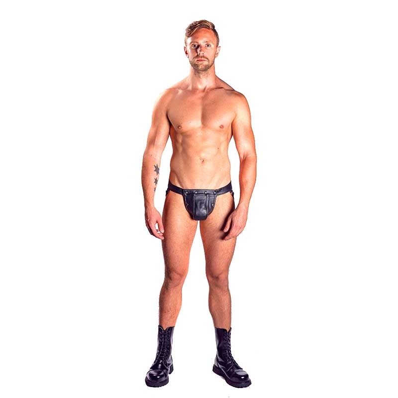 MISTER B LEATHER JOCK 23050 with cockring