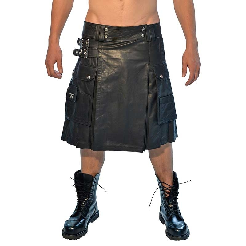 MISTER B LEATHER KILT 15090 classic fetish wear