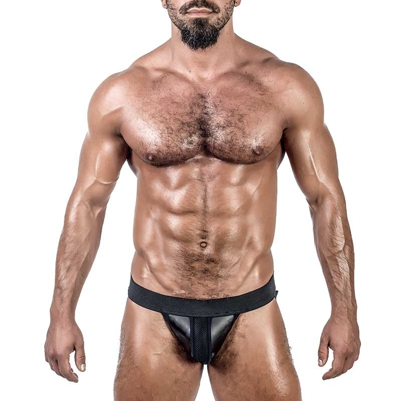 MISTER B NEOPRENE JOCK 340200 with mesh highlight