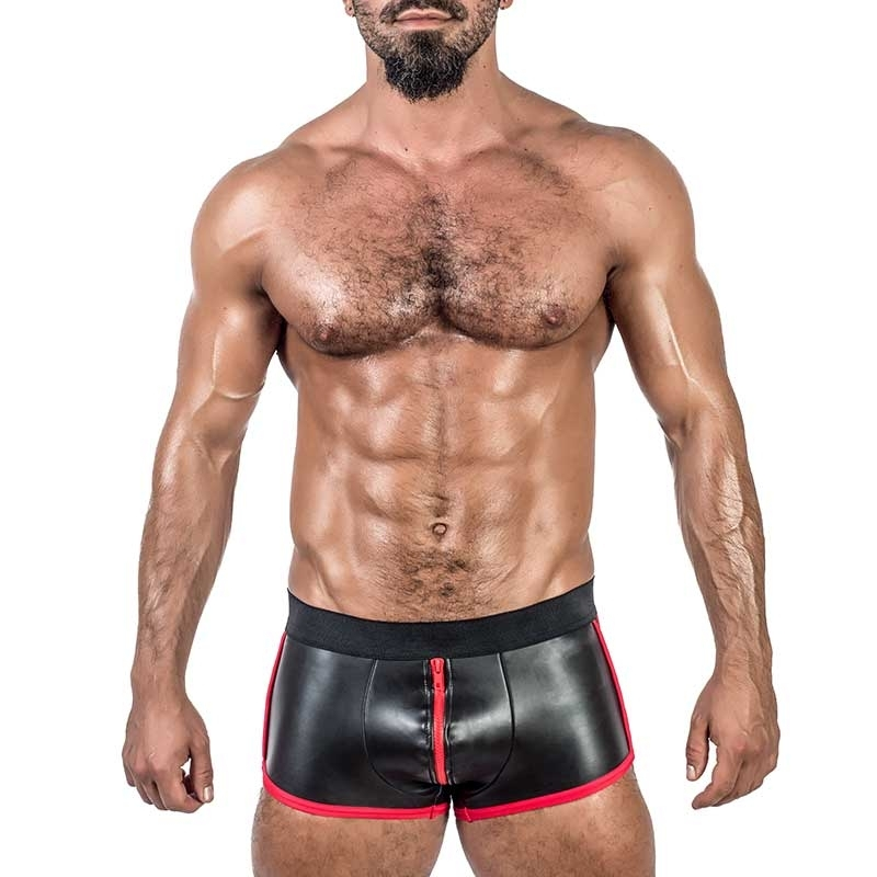 MISTER B NEOPRENE PANTS 341130 with full zipper