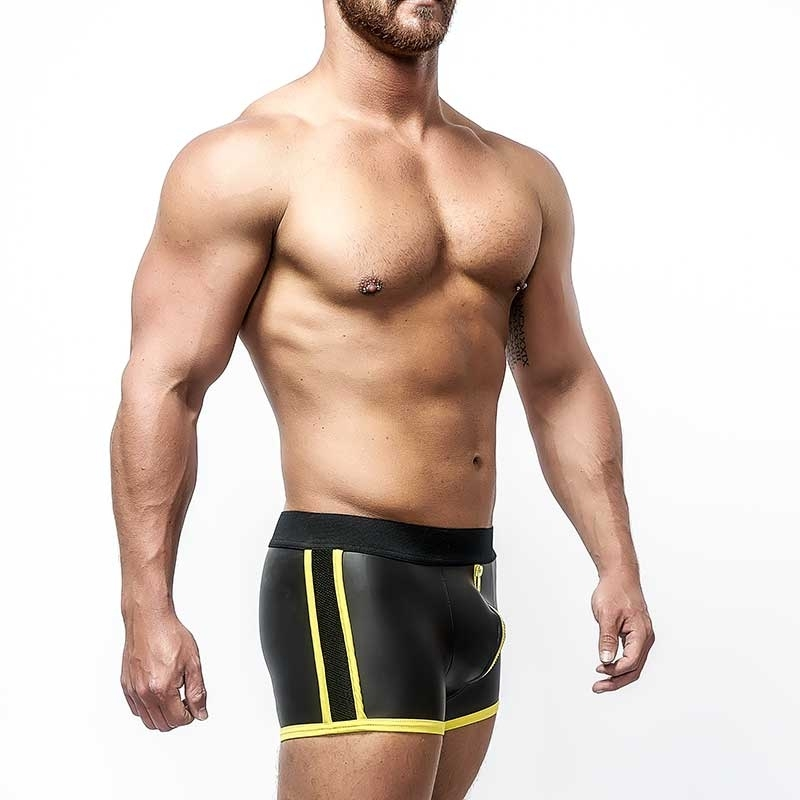 MISTER B NEOPRENE SHORTS 340320 with push-up pouch