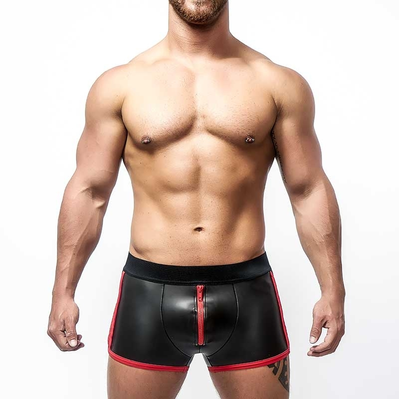 MISTER B NEOPRENE SHORTS 340330 with push-up pouch