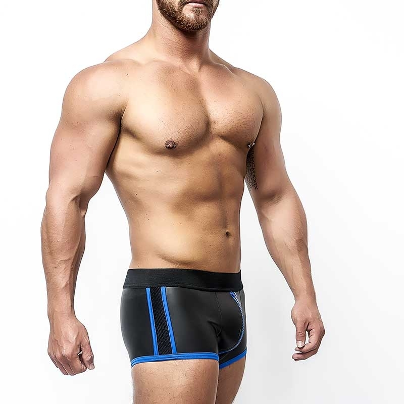 MISTER B NEOPRENE SHORTS 340410 with full length zipper
