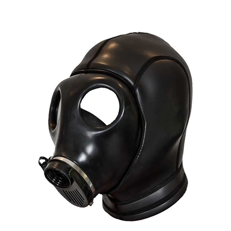 MISTER B NEOPRENE MASK 347200 classic gas mask style