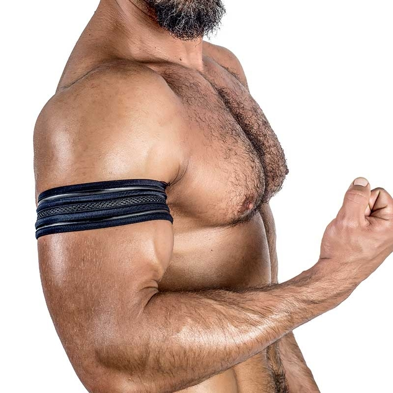 MISTER B NEOPRENE Biceps BAND 340900 with mesh details