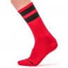 BARCODE Berlin STRUMPF gym comfort 91366 Street Wear Socken red-black