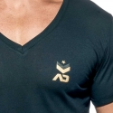 ADDICTED T-SHIRT military AD610 base for everyone in black