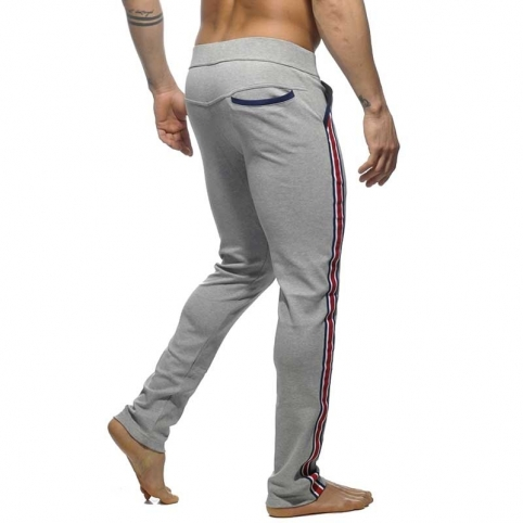 ADDICTED SPORTPANTS long sprint AD 335 the super light grey intercotton