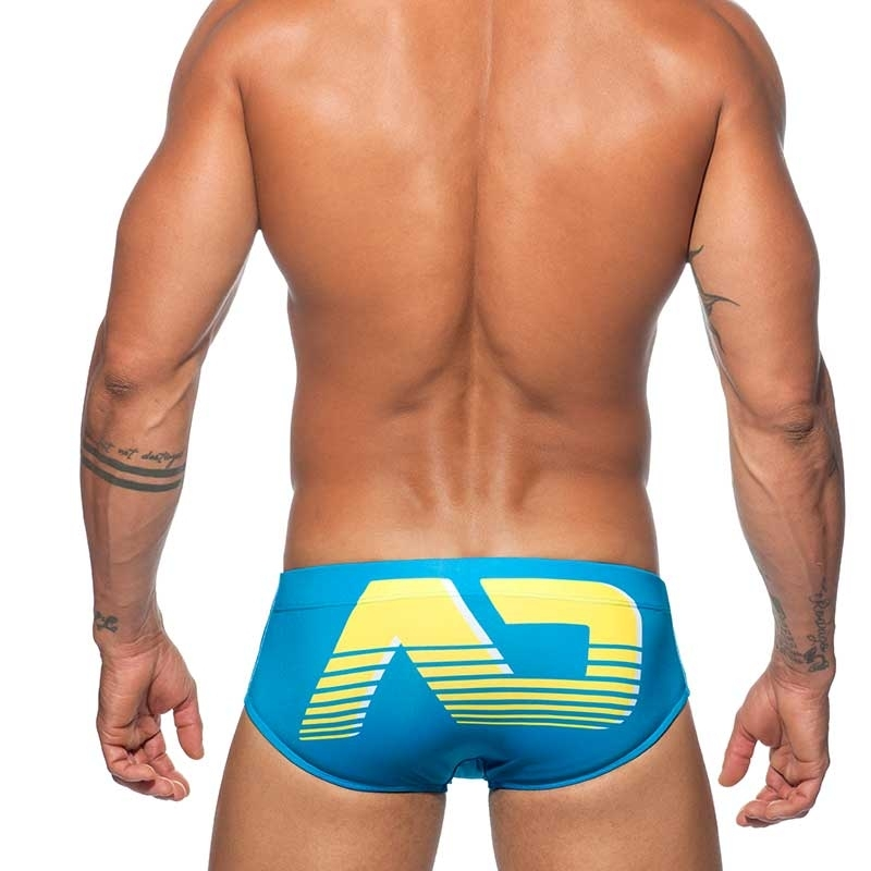ADDICTED Pantie SWIM BRIEF ad Digital ADS154 basic in turquoise