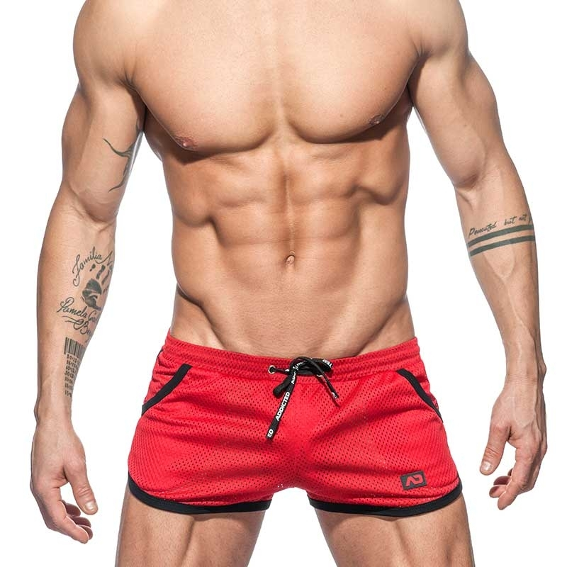 ADDICTED SHORTS mesh Rocky AD647 Freestyle sport pants