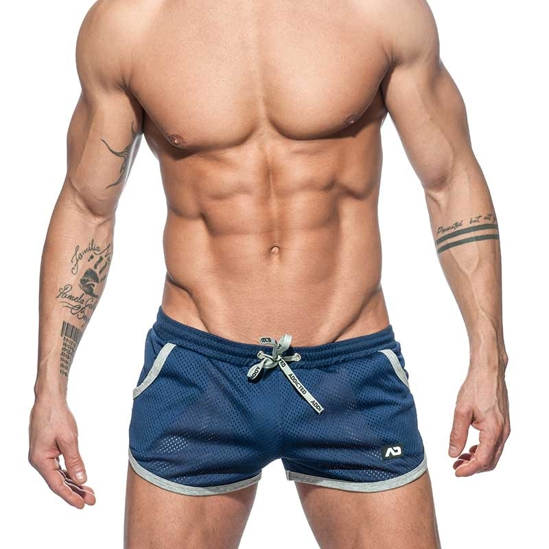 ADDICTED SHORTS mesh Rocky AD647 Freestyle sport pants in navy