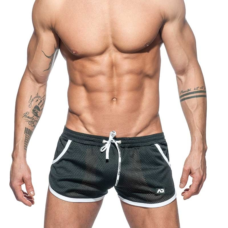 ADDICTED SHORTS mesh Rocky AD647 Freestyle sport pants in black