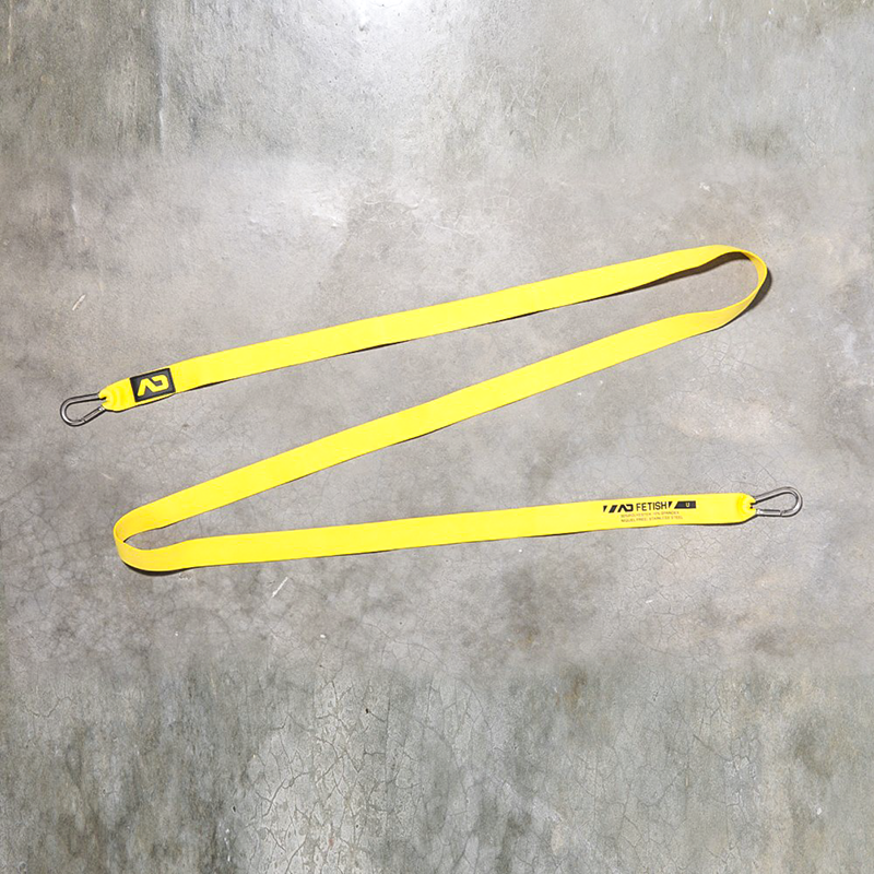 AD-FETISH STRAP basic ADF88 carabiner code yellow