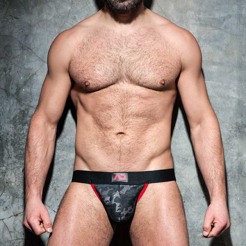AD-FETISH JOCKstrap camouflage mesh ADF73 bootcamp code red