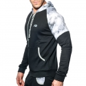 ADDICTED SPORTJACKE geopack AD615 sportlicher Kapuzenpulli in black
