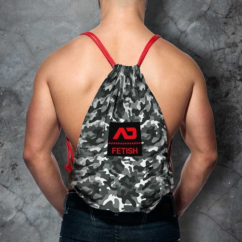 AD-FETISH BACKPACK camouflage ADF90 bag in black