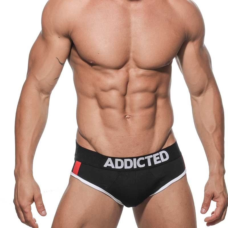 ADDICTED BRIEF big Ball AD157 push-up in black