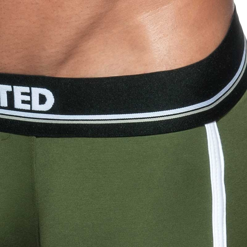 ADDICTED BOXER wavy AD728 swinging in oliv green