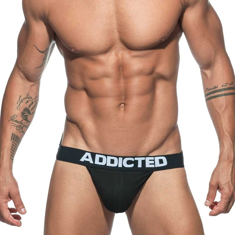 ADDICTED STRING basic AD746 push-up in black
