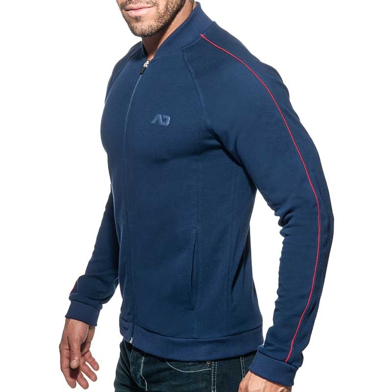 ADDICTED SPORTS JACKET AD725 combines JACQUET in dark blue