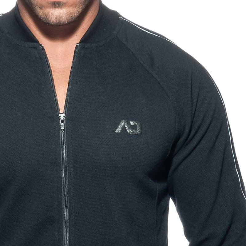 ADDICTED SWEAT JACKET AD725 combines JACQUET in black