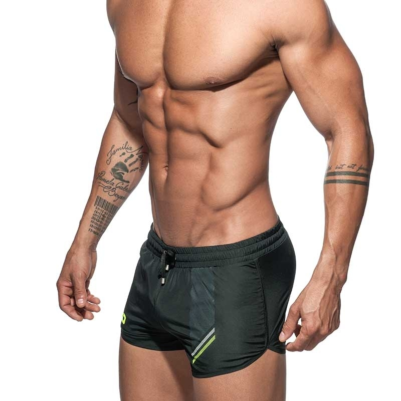ADDICTED SHORTS AD632 fast dry in black