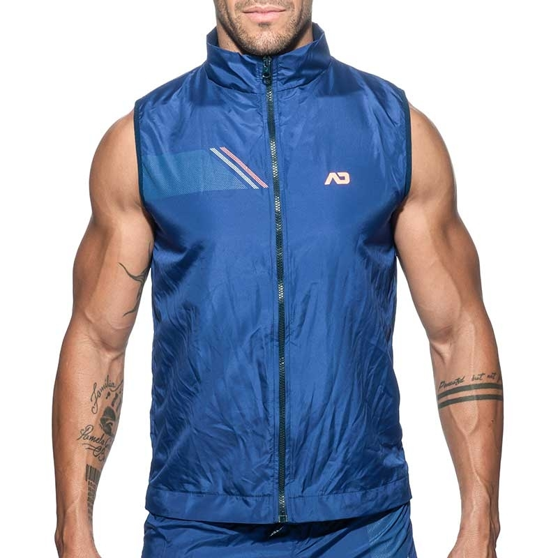 ADDICTED SPORT JACKET TANK sport AD629 fast dry in dark blue