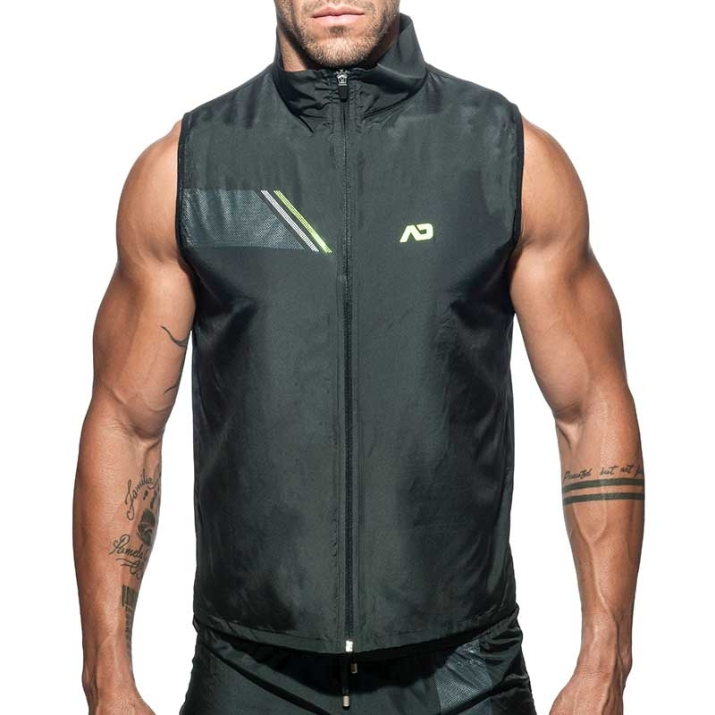 ADDICTED SPORT JACKET TANK sport AD629 fast dry in black