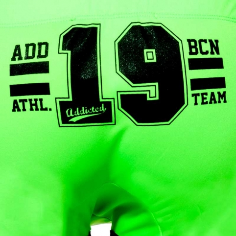 ADDICTED SHORTS neon AD742 Team-19 in green