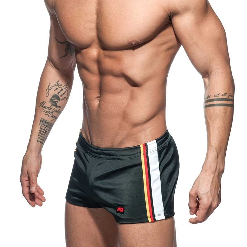 ADDICTED SHORTS basic AD724 sport in schwarz
