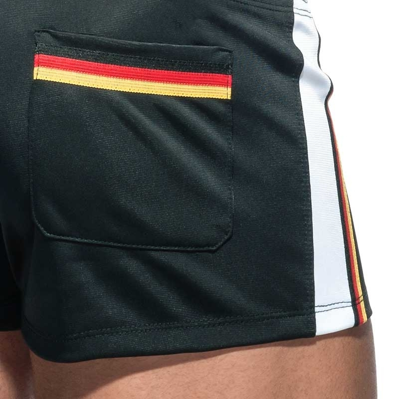 ADDICTED SHORTS basic AD724 sport in black
