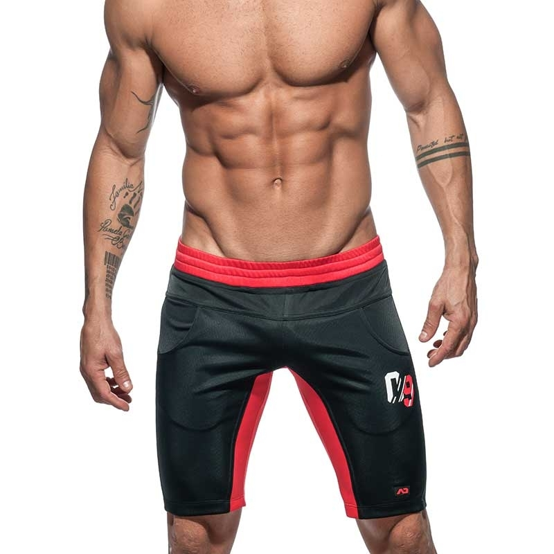 ADDICTED Knie SHORTS Sport-09 AD733 V-Serie in schwarz