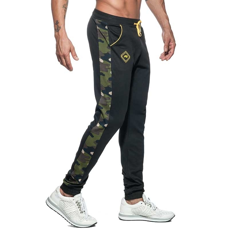 ADDICTED SPORT PANTS Sport AD661 camouflage in black