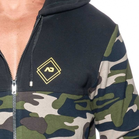 ADDICTED SPORT JACKET Sport AD659 camouflage in black