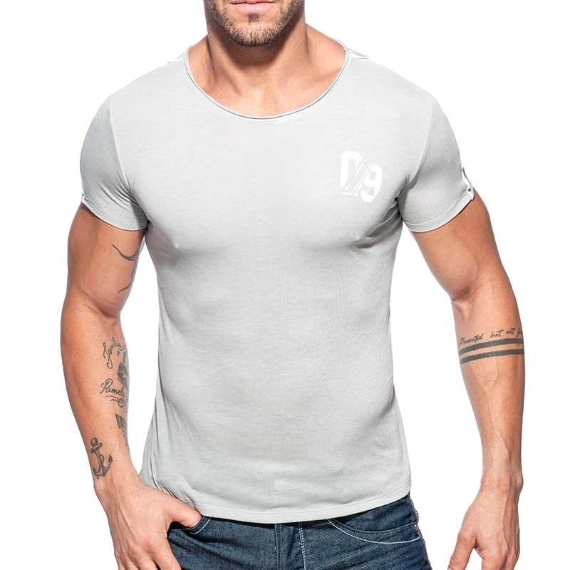 ADDICTED T-SHIRT sport-09 AD704 used style in gray