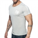 ADDICTED T-SHIRT Sport-09 AD704 used style in grau