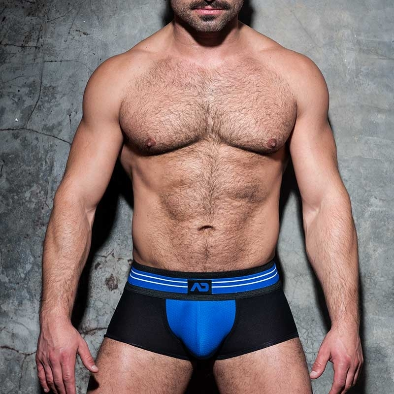 AD-FETISH BOXER stripe ADF113 mesh in blue